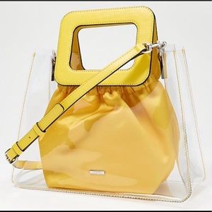 Vince Camuto Women's Kenni Satchel in Yellow